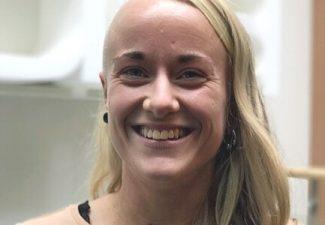 porträttbild av Erika Gudmundsson Olsson, förskollärare i Pysslingen Förskolor