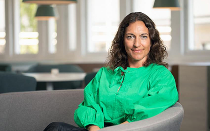 porträttbild av Veronica Rörsgård, segmentschef Pysslingen Förskolor