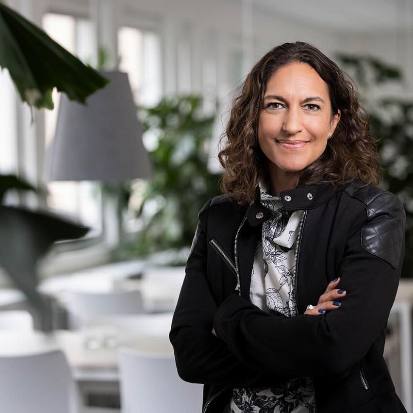 porträttbild av Veronica Rörsgård segmentsområdeschef Pysslingen Förskolor