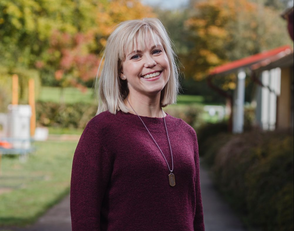 porträttbild av Marielle Ekdahl, intendent