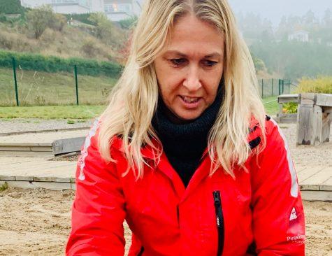 Angelika Walberg Barnskötare på Sandudden